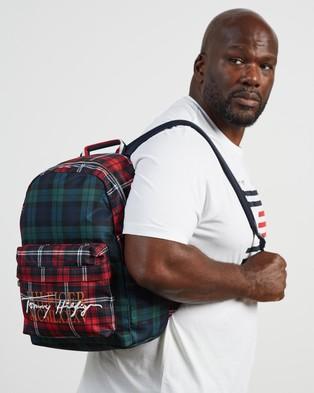 Tommy Hilfiger Check Signature Backpack - Backpacks (Check)