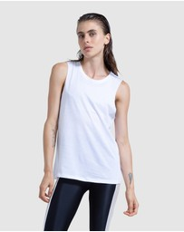 First Base - Company Cropped Tank