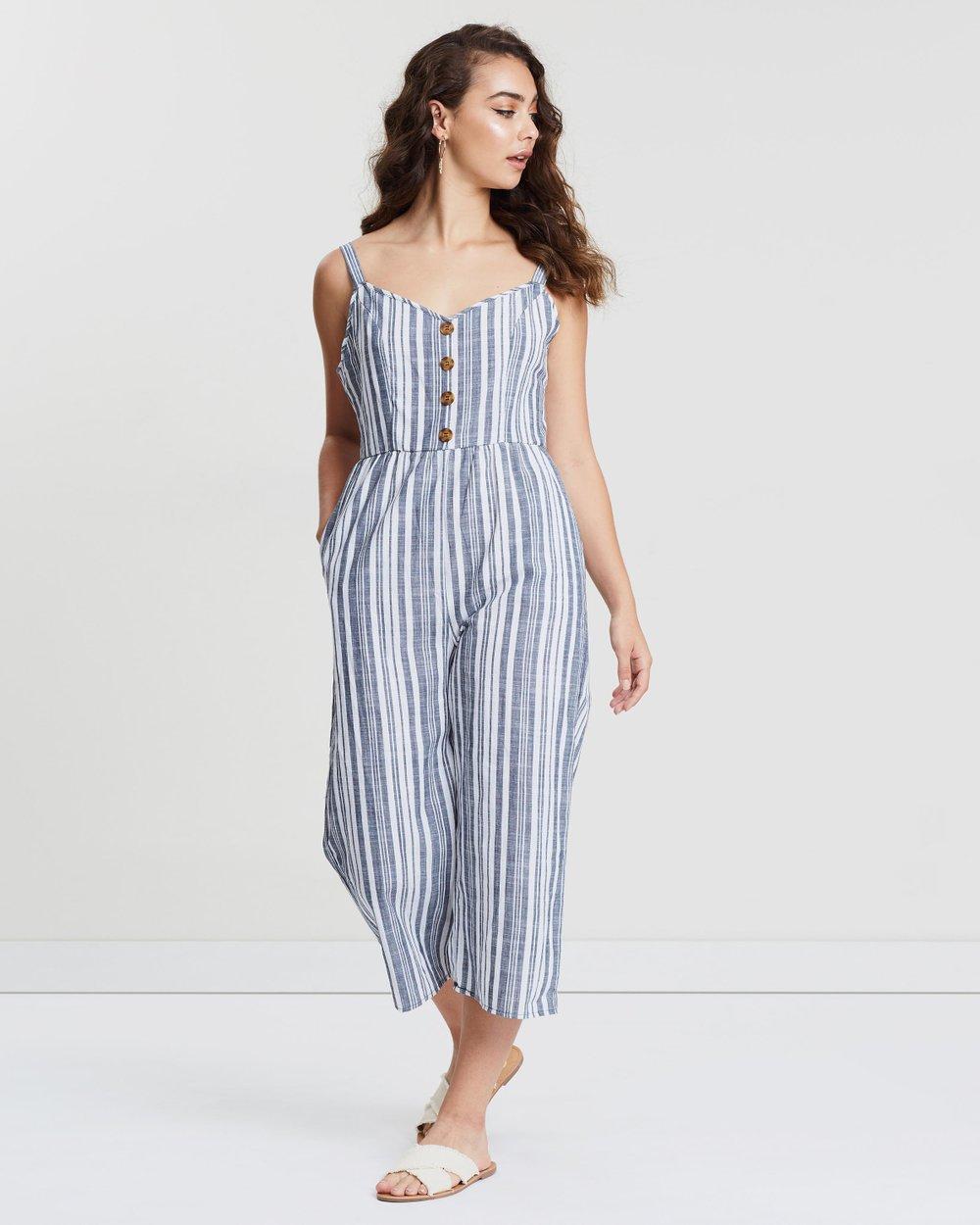 d5155de6be5 Woven Toni Strappy Jumpsuit by Cotton On Online
