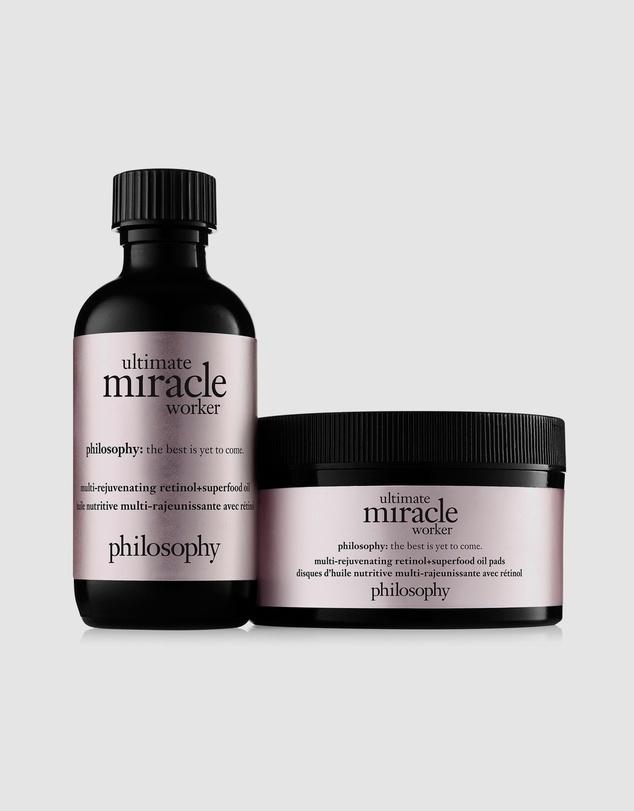 Life Ultimate Miracle Worker Multi-Rejuvenating Retinol Superfood Oil Pads 60mL - 60 Pads