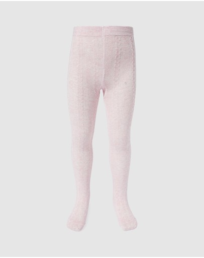Milky - Jacquard Tights - Kids