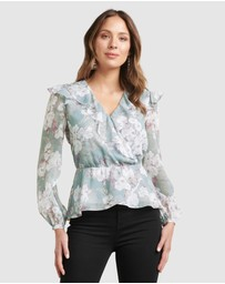 Forever New - Sorrento Romantica Blouse
