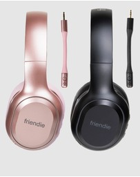 Friendie - AIR Duo Wireless Over Ear Headphones His and Hers Pack