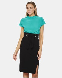 Oxford - Banks Turtle Collar Top