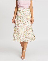 Review - Sunset Floral Skirt