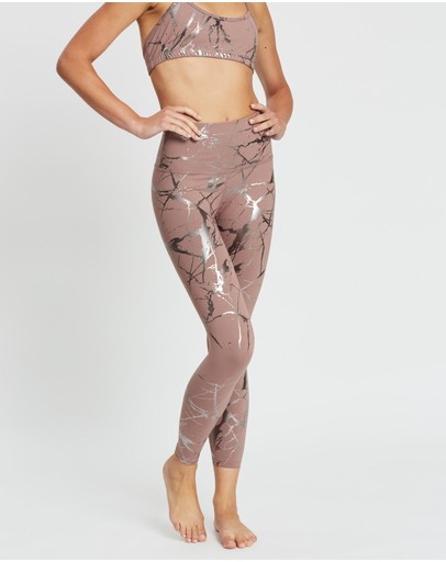 Beyond Yoga - Lost Your Marbles High Waist Midi Leggings