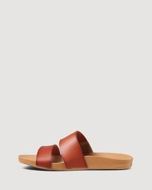 REEF Cushion Vista - Thongs (Saddle)