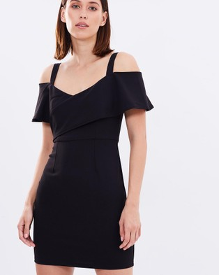 DELPHINE – Suspended Dress Black