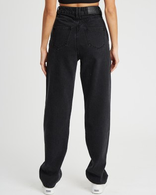 Calli Tahlia Jeans - Relaxed Jeans (Washed Black)