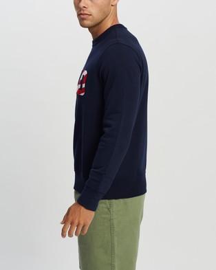 Polo Ralph Lauren Long Sleeve Fleece Sweater   Exclusives - Sweats (Cruise Navy)