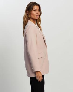 Atmos&Here Noele Blazer - Blazers (Soft Pink)