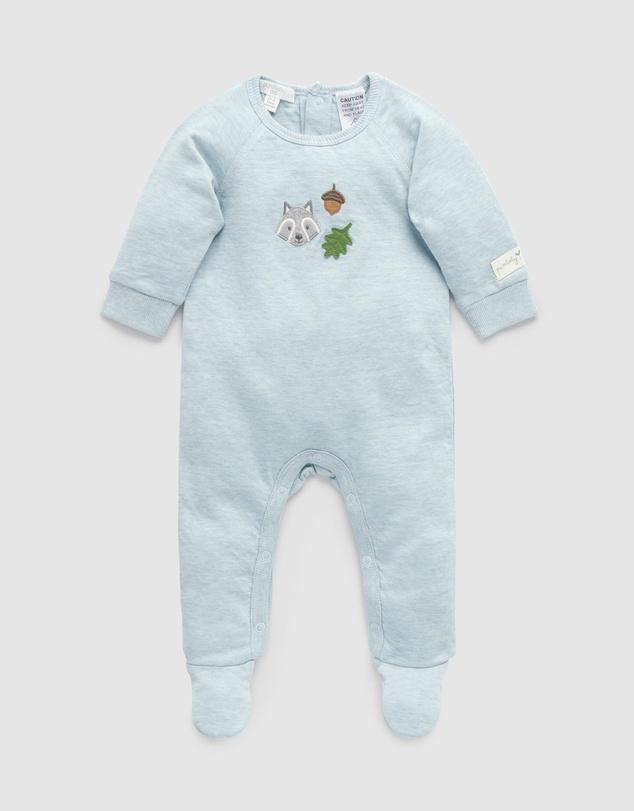 Kids Racoon Growsuit - Babies