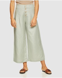 Oxford - Sophie Button Front Pants