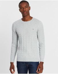 Gant - Cotton Cable Crew Sweater