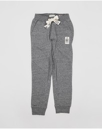 Scotch Shrunk - Cut & Sew Panel Detail Sweatpants - Kids-Teens