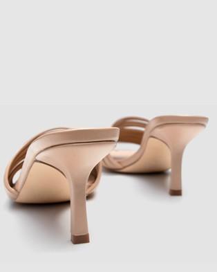 Covet Shoes - Nala Stiletto Heels Mid-low heels (Nude)