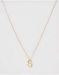 Amber Sceats - Letter Necklace - S