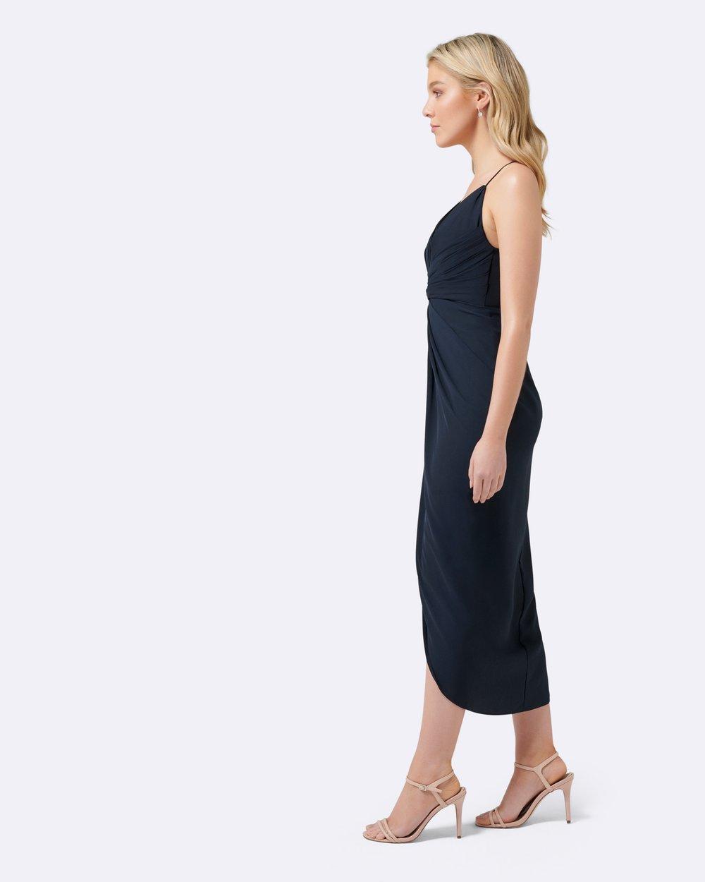141b6aaa54e Petite Charlotte Drape Maxi Dress by Forever New Petite Online