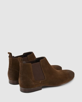 AQ by Aquila Marty Chelsea Boots - Boots (Khaki Suede)