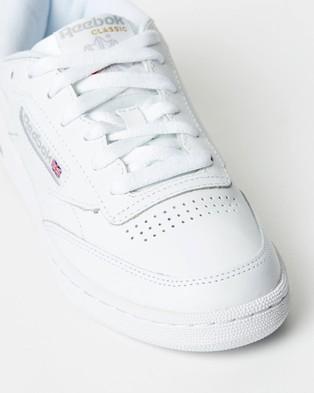 Reebok Club C 85   Unisex - Sneakers (White & Grey)