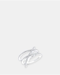 Elli Jewelry -  Ring 925 Sterling Silver Zirconia