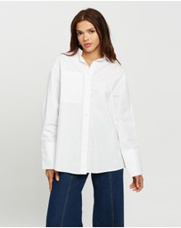 AERE - Oversized Organic Cotton Shirt