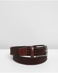 Jeff Banks - Woven Stretch Belt