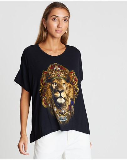 Camilla - Loose Fit Round Neck Tee