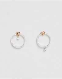 Swarovski - Lifelong Heart Hoop Earrings