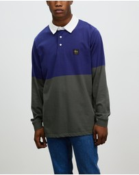 Stussy - Twos Long Sleeve Rugby T Shirt
