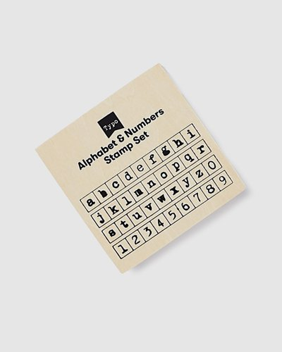 Letters & Numbers Stamp Set