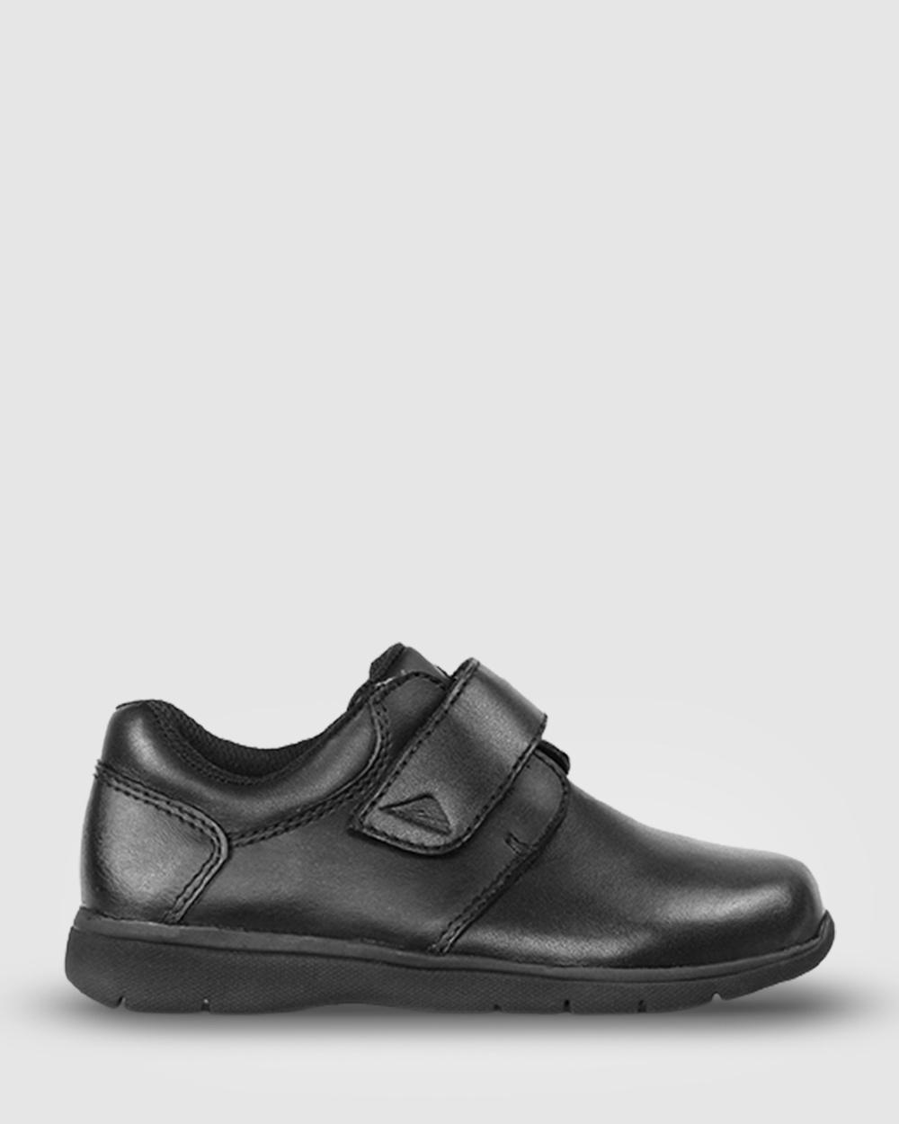 Ascent Prep 2 School Shoes Black Australia