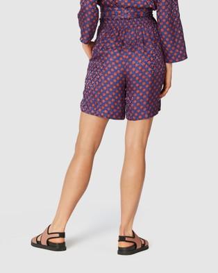 Gorman Stork Spot Shorts - Chino Shorts (Multi)