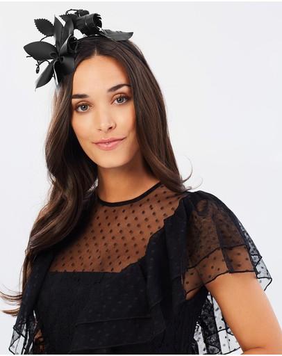 Morgan & Taylor Paris Fascinator Black