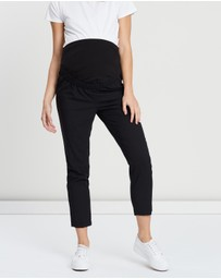 DP Maternity - Over-Bump Ankle Grazer Pants