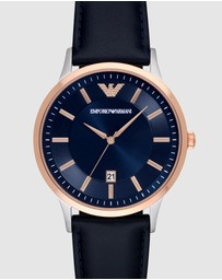 Emporio Armani - Blue Analogue Watch
