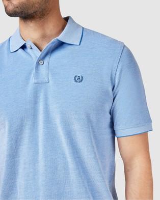 Blazer Liam Oxford Polo - Shirts & Polos (Blue)