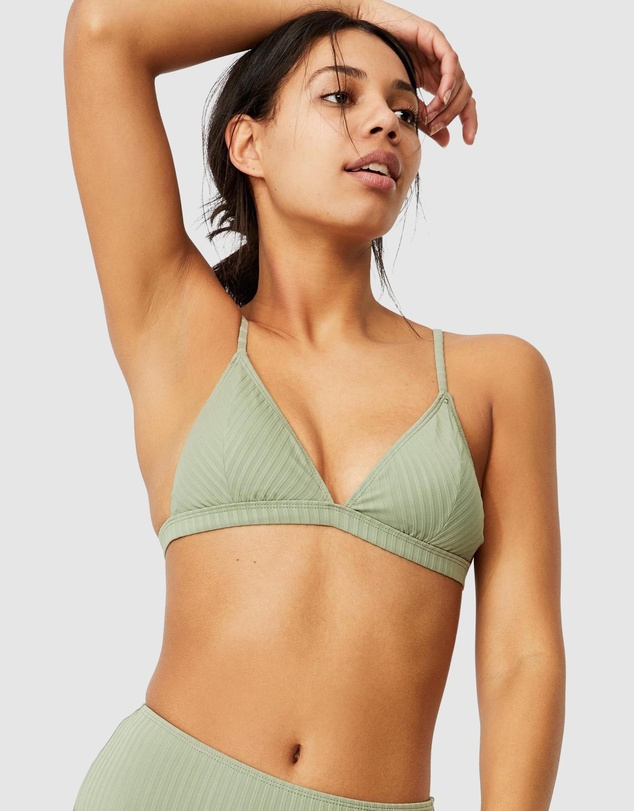 Cotton On Body - Fixed Triangle Bikini Top