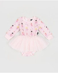 Rock Your Baby - Pirouette LS Circus Dress - Babies ICONIC EXCLUSIVES