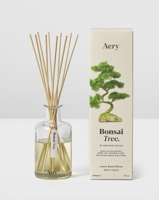 Aery Living Botanical 200ml Reed Diffuser - Diffusers (Neutrals)