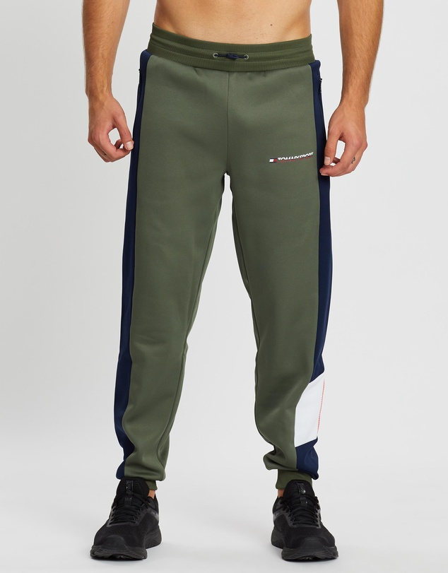 Tommy Sport - Blocked Fleece Cuffed Pants