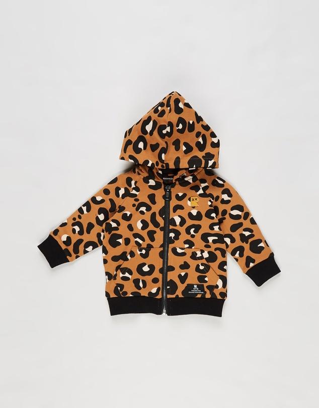 Kids Leopard Skin Hoodie - Babies