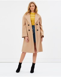 Miss Selfridge - Volume Sleeve Coat