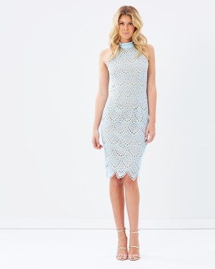 Ministry of Style – Whisper Body Con Dress – Bodycon Dresses (Ice)