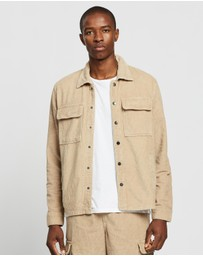 Locale - Cord Worker Overshirt