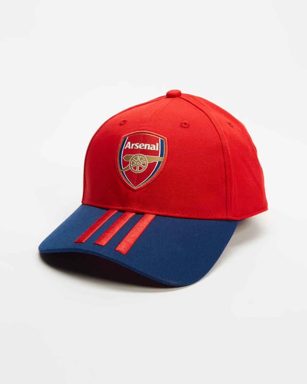 adidas Performance Arsenal FC Baseball Cap Headwear Scarlet & Mystery Blue