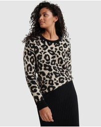 Superdry - Lisa Leopard Jumper