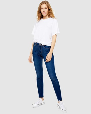 TOPSHOP Petite PETITE Leigh Skinny Jeans - Jeans (Indigo)