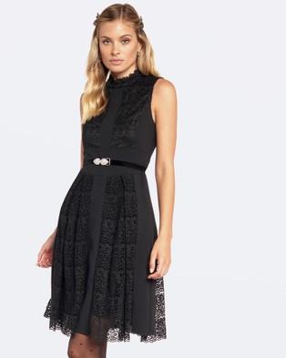 Alannah Hill – She Runs The World Dress – Dresses (Black)