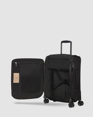 Samsonite Spark SNG Eco Spinner 55 Top Pocket - Travel and Luggage (Eco Black)